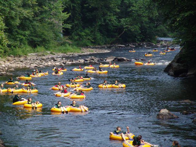 River Tubing Beer