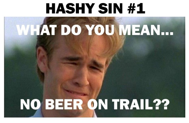 No Beer on Trail?!?