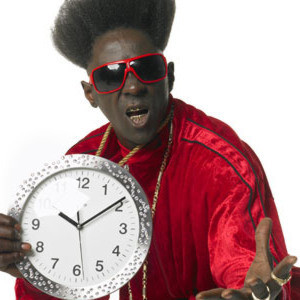 Flava-Flav would obviously be quite early for the HammonASSet Beach Hash Saturday, September 27th, but think of the Pre-Lube possibilities!