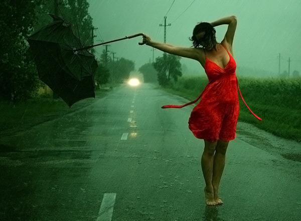a rain